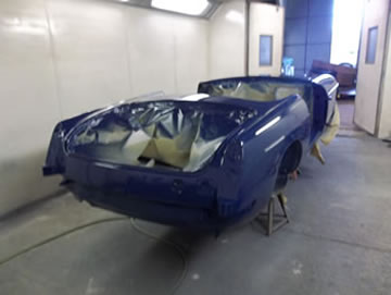 MGB Shell painted